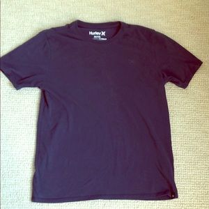 Hurley Nike dry fit dark blue tee shirt size M